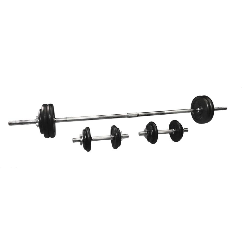HS Fitness 50kg Barbell Set, product, variation 3