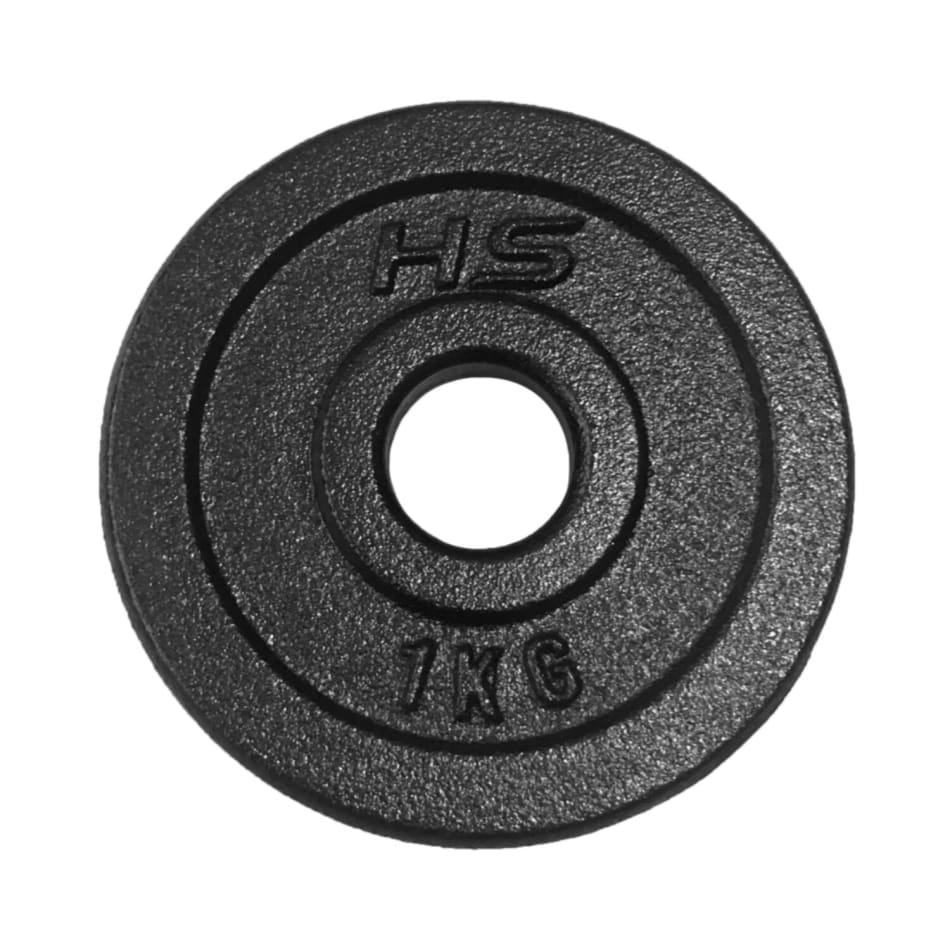 HS Fitness 1kg 30mm Plate, product, variation 1