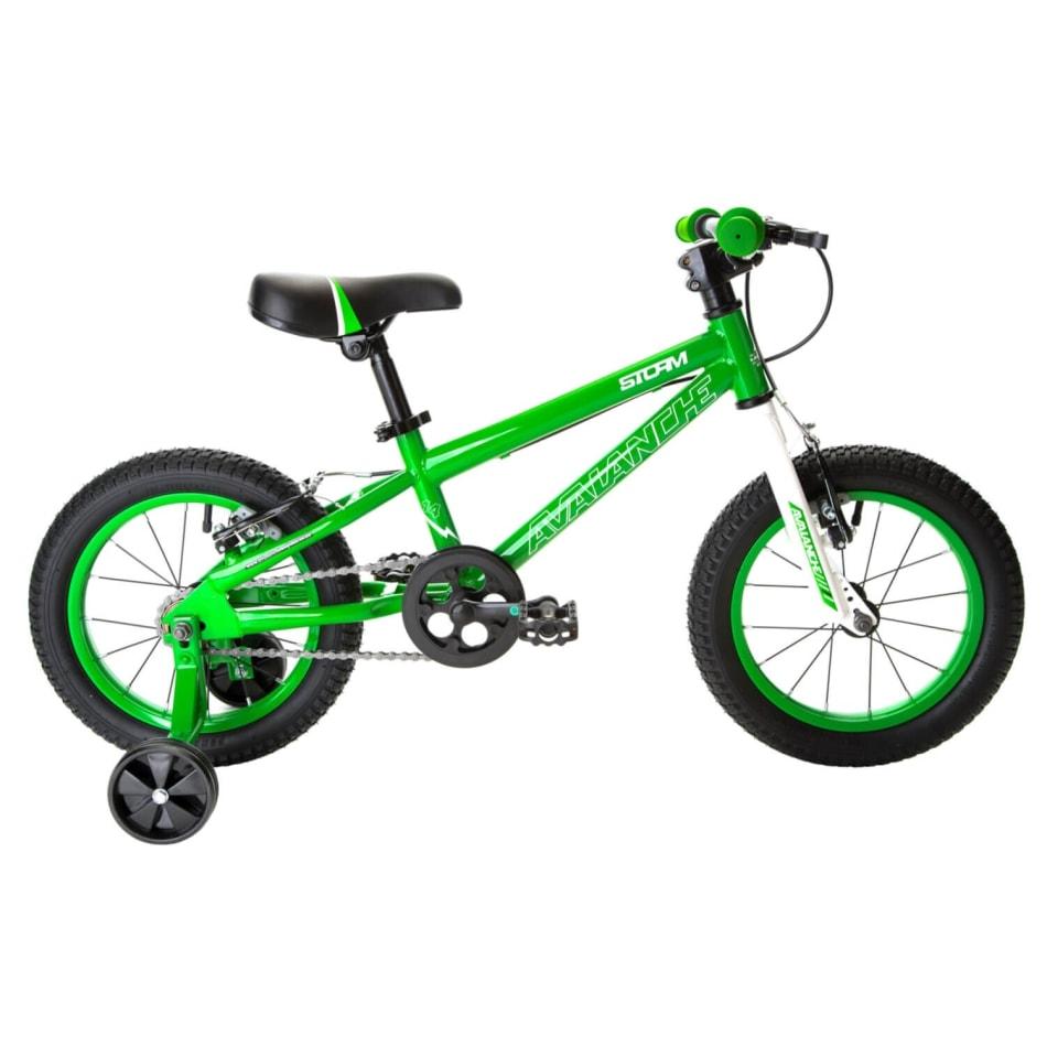 "Avalanche Junior Boy's Storm 14"" Bike, product, variation 1"