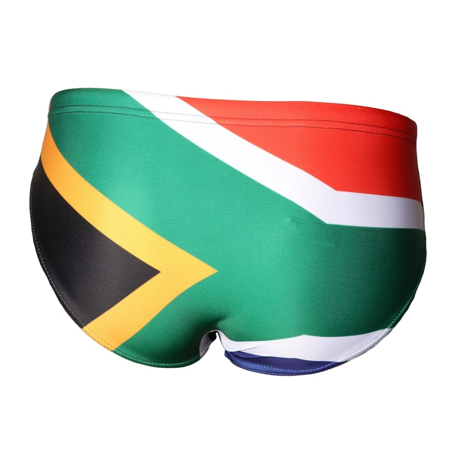 Second Skins Boys South African Flag Swimming Brief, product, variation 2