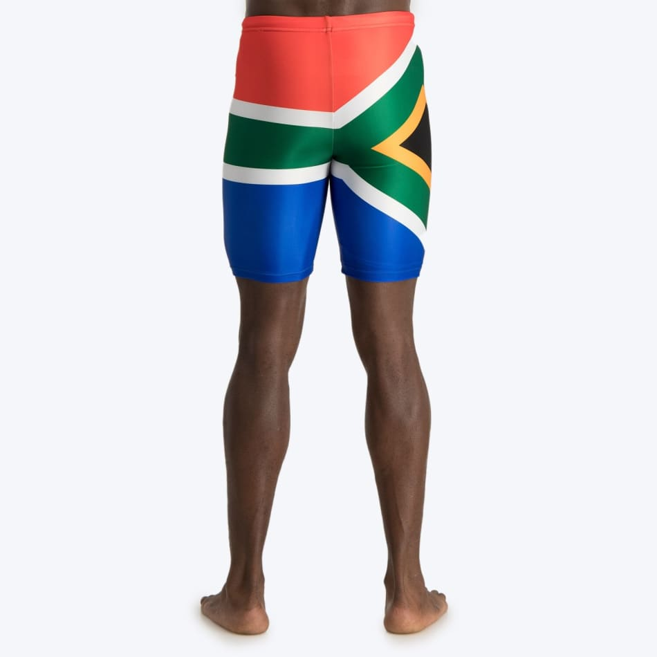 Second Skins Men's South African Flag Swimming Jammer, product, variation 4