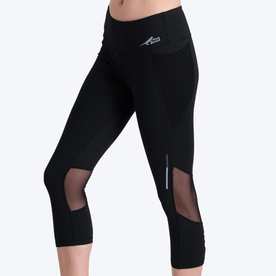 First Ascent Women's Corefit Run Capri, product, variation 4