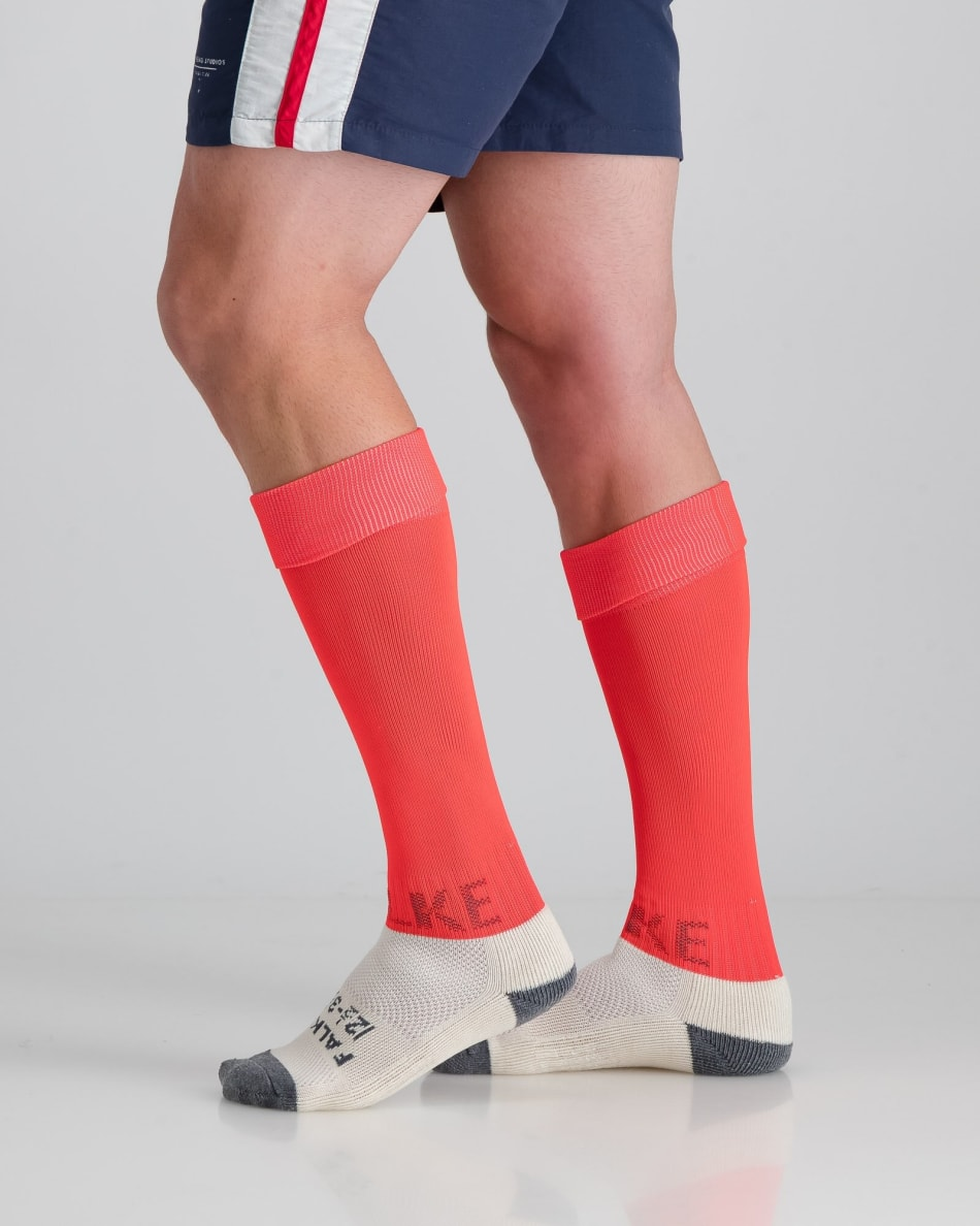 Falke Neon Coral Practice Sock Solid 8-12, product, variation 3