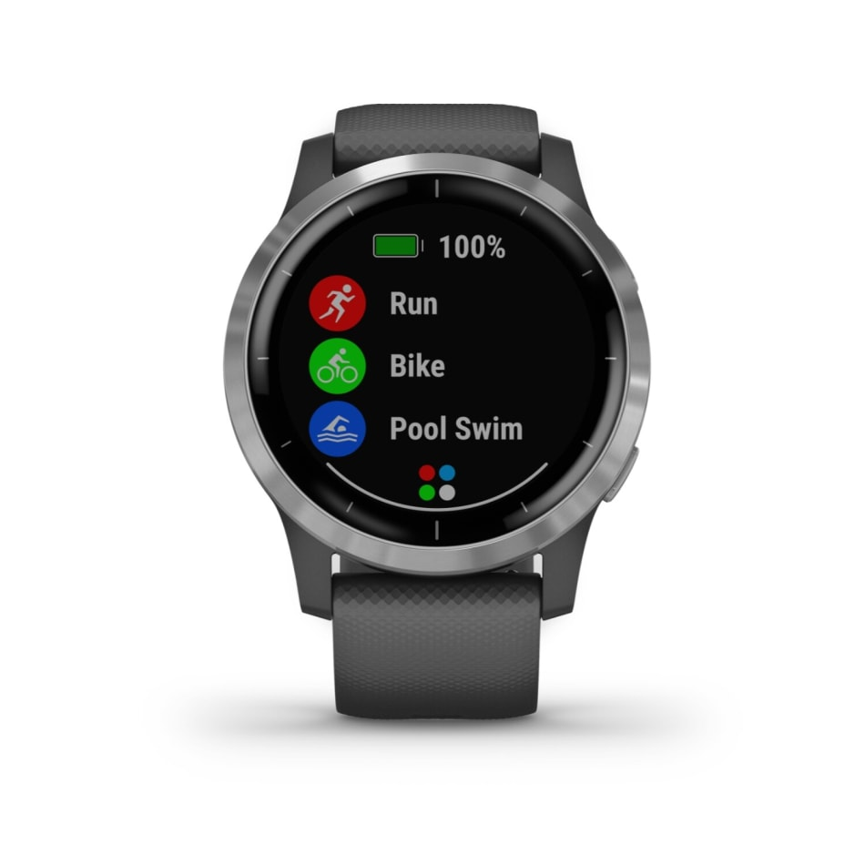 Garmin Vivoactive 4 Multisport GPS Smart Watch, product, variation 1