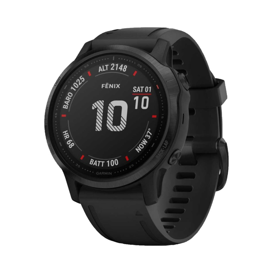 Garmin Fenix 6 Pro - Black Multisport GPS Watch, product, variation 1