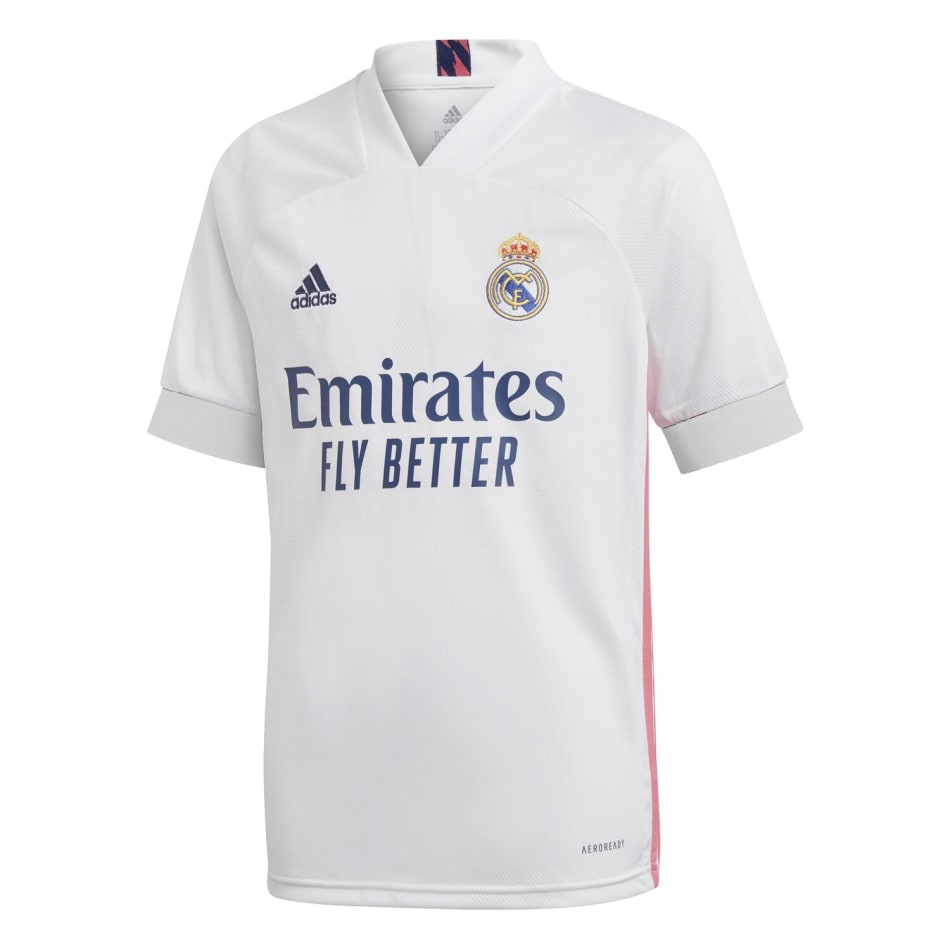 Real Madrid Junior Home 20/21 Soccer Jersey, product, variation 1