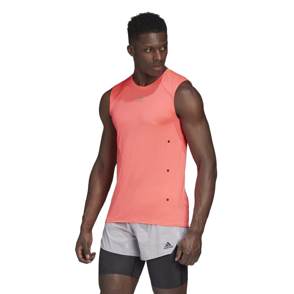 adidas Men's Heat Run Tank, product, variation 1