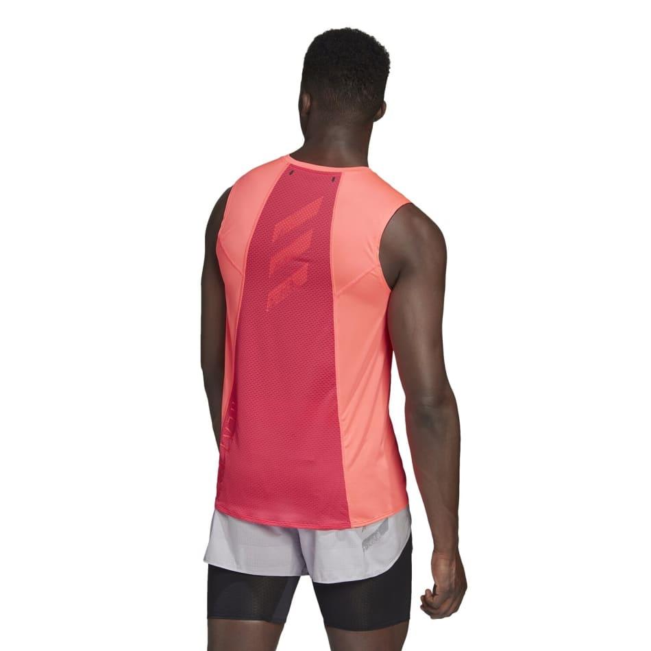 adidas Men's Heat Run Tank, product, variation 2