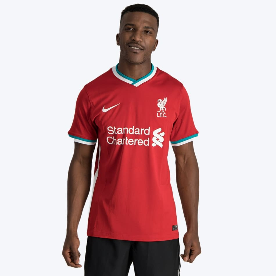 Liverpool Men's Home 20/21 Soccer Jersey, product, variation 3