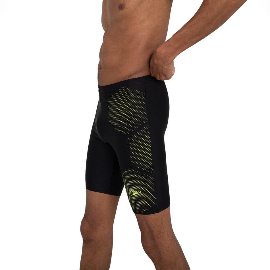 Speedo Men's Tech Placement Swim Jammer, product, variation 6