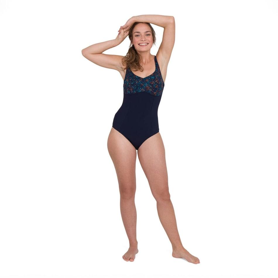 Speedo Women's ContourLustre Printed Swim 1 Piece, product, variation 1