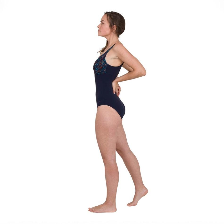 Speedo Women's ContourLustre Printed Swim 1 Piece, product, variation 2