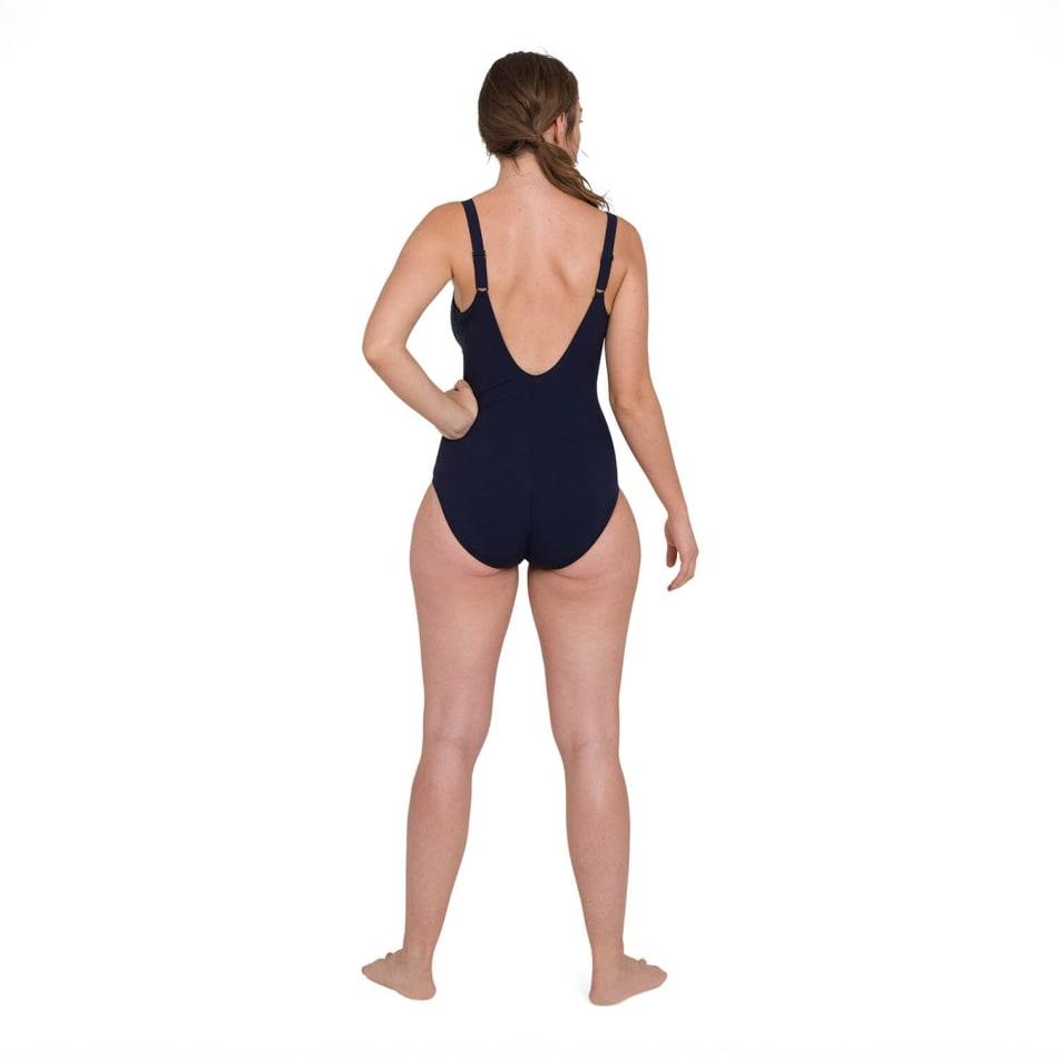 Speedo Women's ContourLustre Printed Swim 1 Piece, product, variation 3