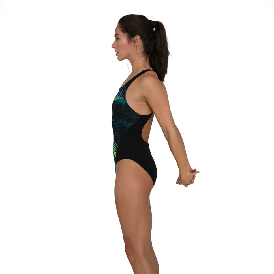 Speedo Women's Placement Recordbreaker Swim 1 Piece, product, variation 3