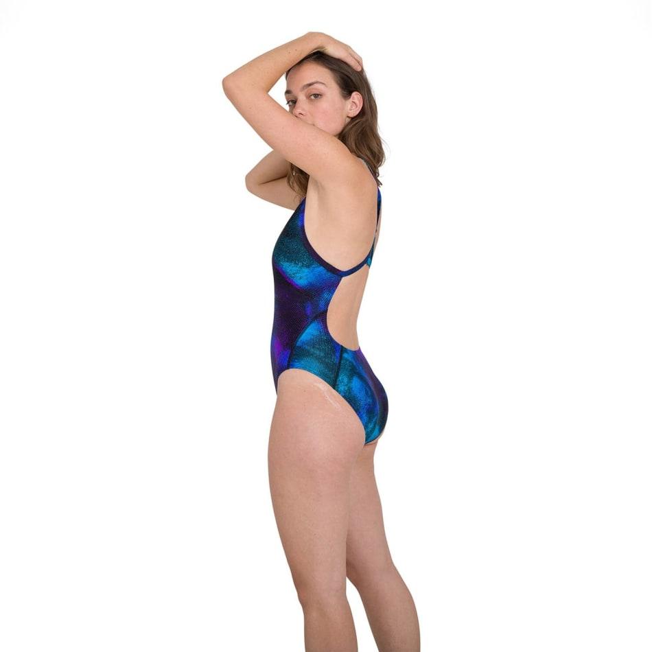 Speedo Women's Allover Turnback Swim 1 Piece, product, variation 3