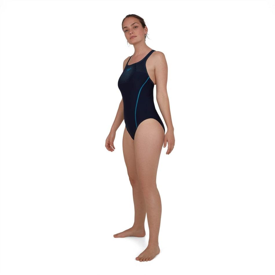 Speedo Women's Tech Placement Medalist Swim 1 Piece, product, variation 3