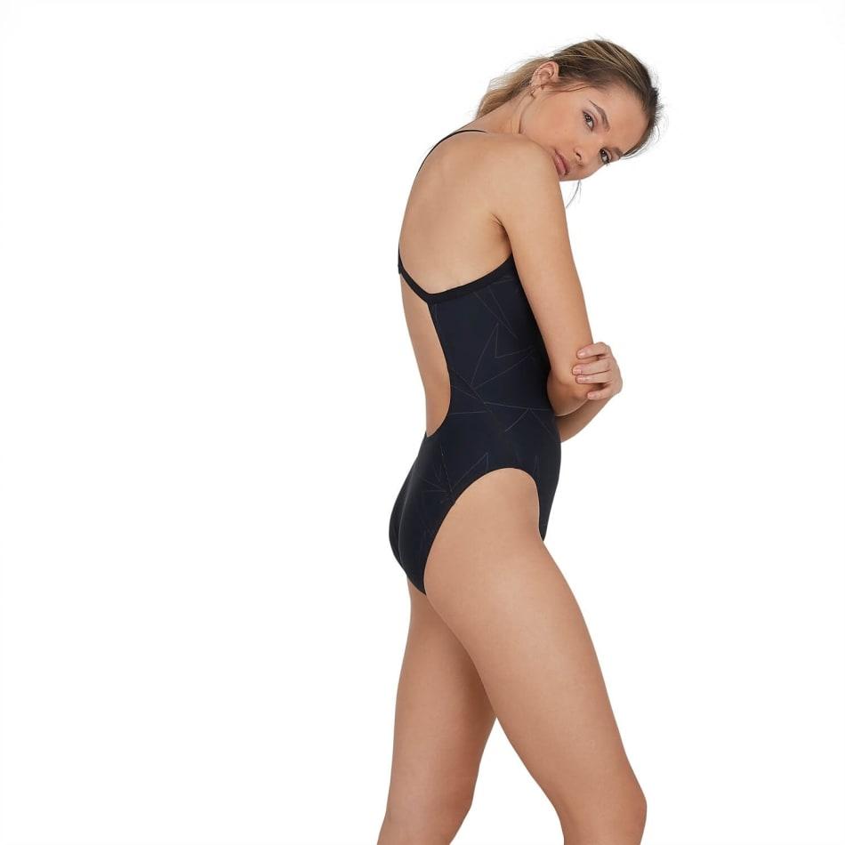 Speedo Women's Boomstar Allover Turnback Swim 1 Piece, product, variation 4