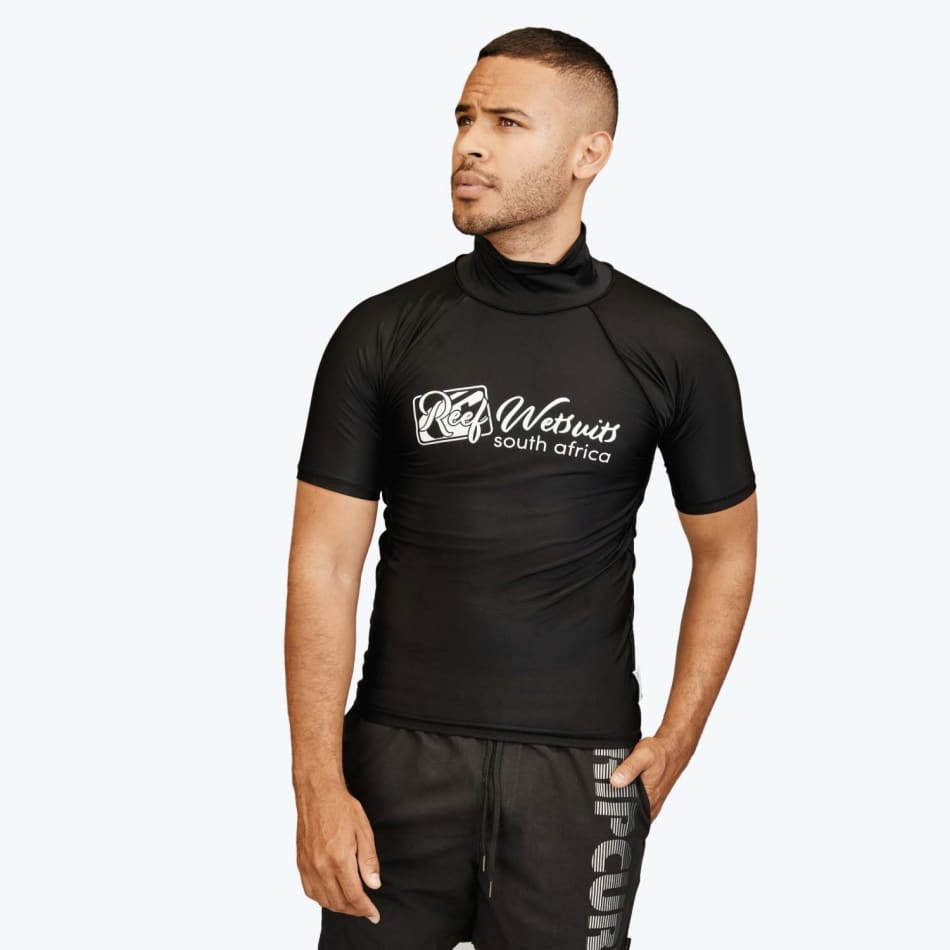Reef Men's Rash Vest Short Sleeve, product, variation 1