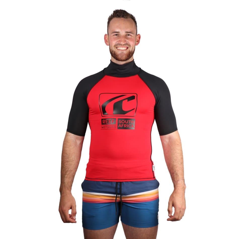 Reef Men's Fashion Short Sleeve Rashvest, product, variation 1