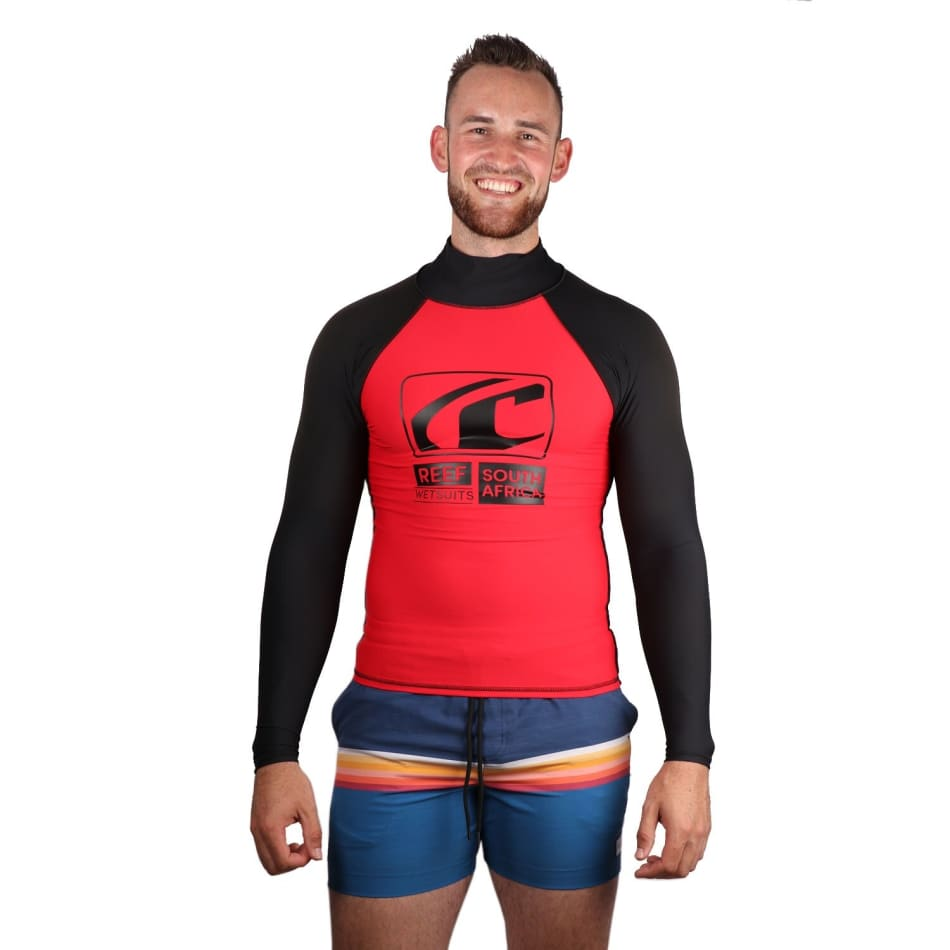 Reef Men's Fashion Long Sleeve Rashvest, product, variation 1