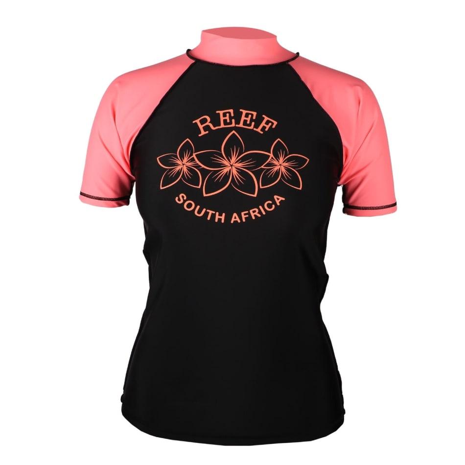 Reef Women's Rash Vest Short Sleeve, product, variation 1