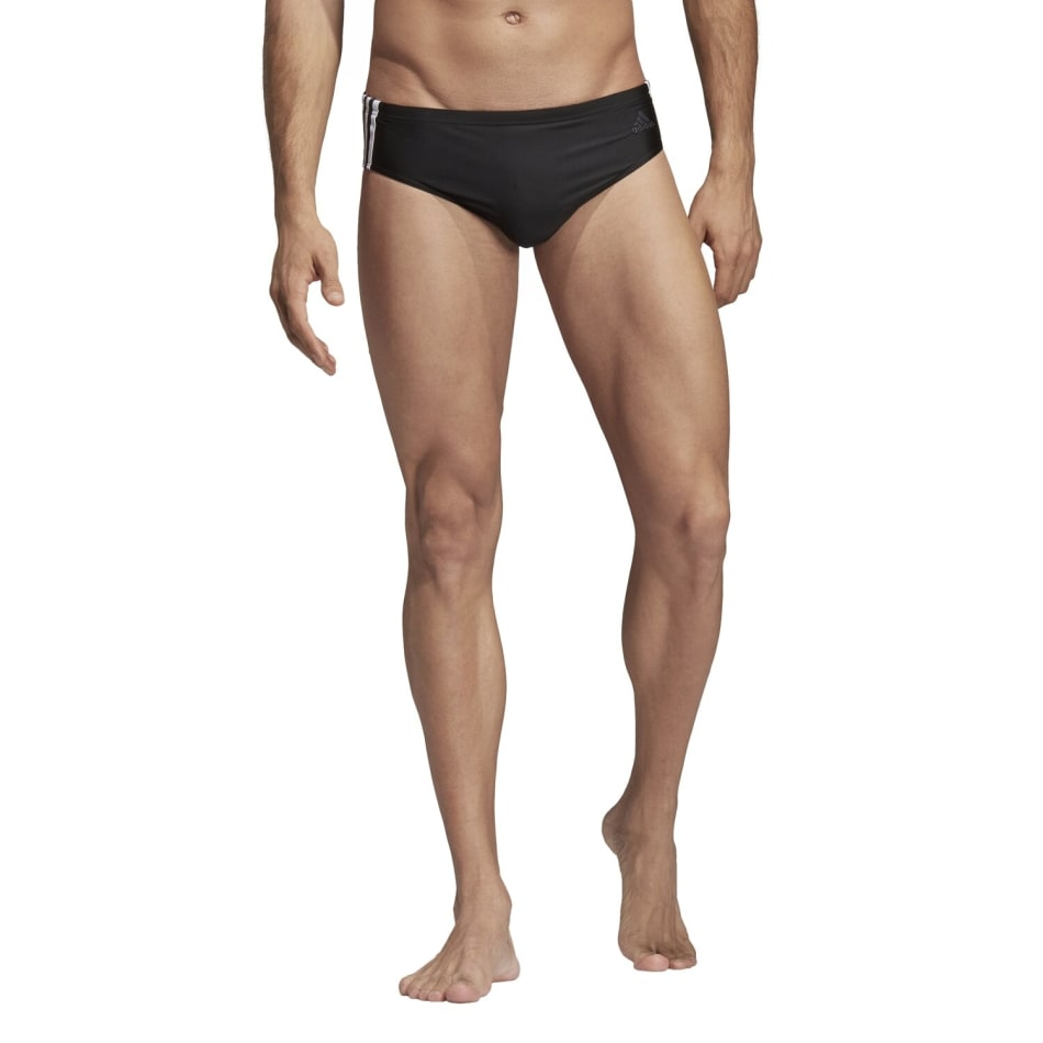 Adidas Men's Fit 3 Stripe Brief, product, variation 1