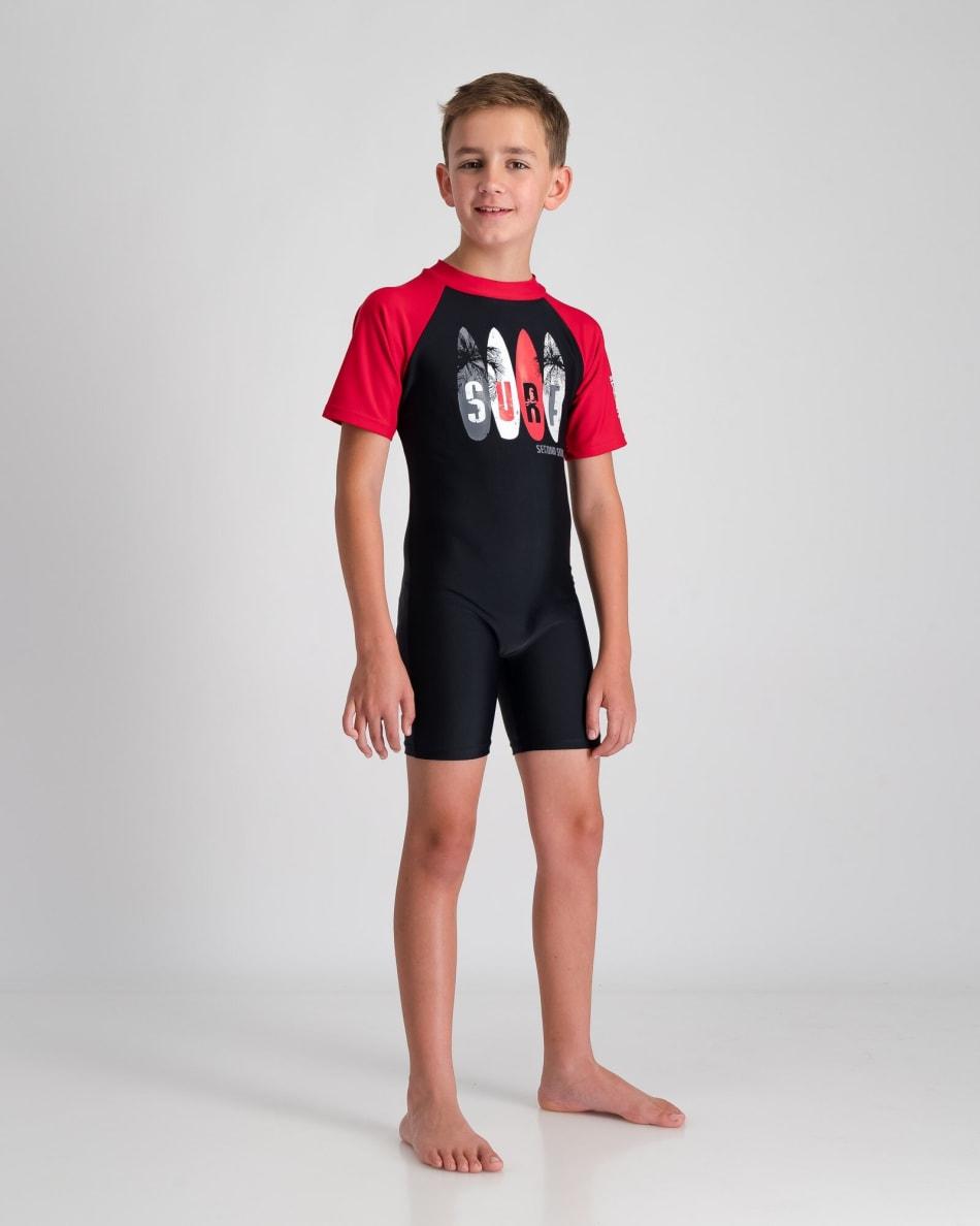 Second Skins Boys Surf Palms Sunsuit, product, variation 2