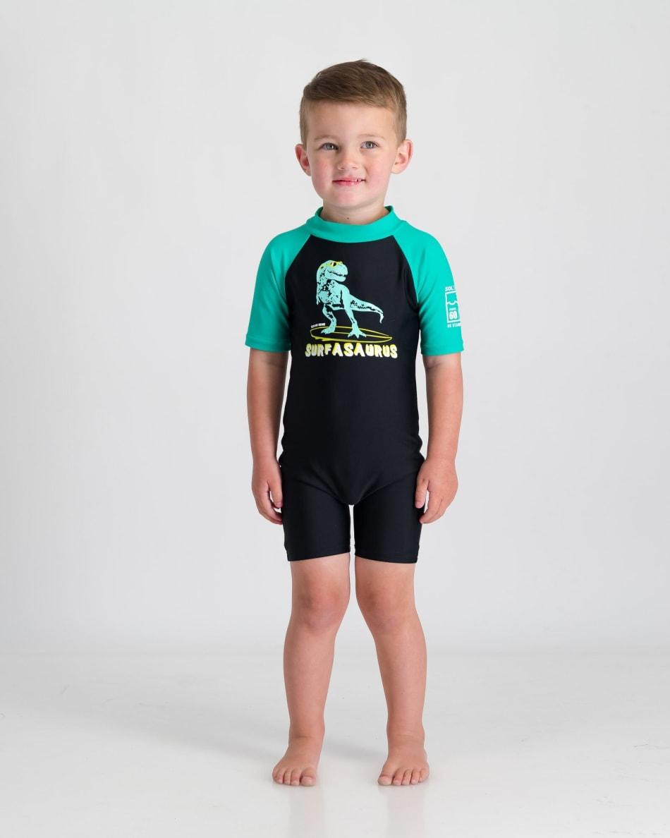 Second Skins Boys Surfasaurus Sunsuit, product, variation 2