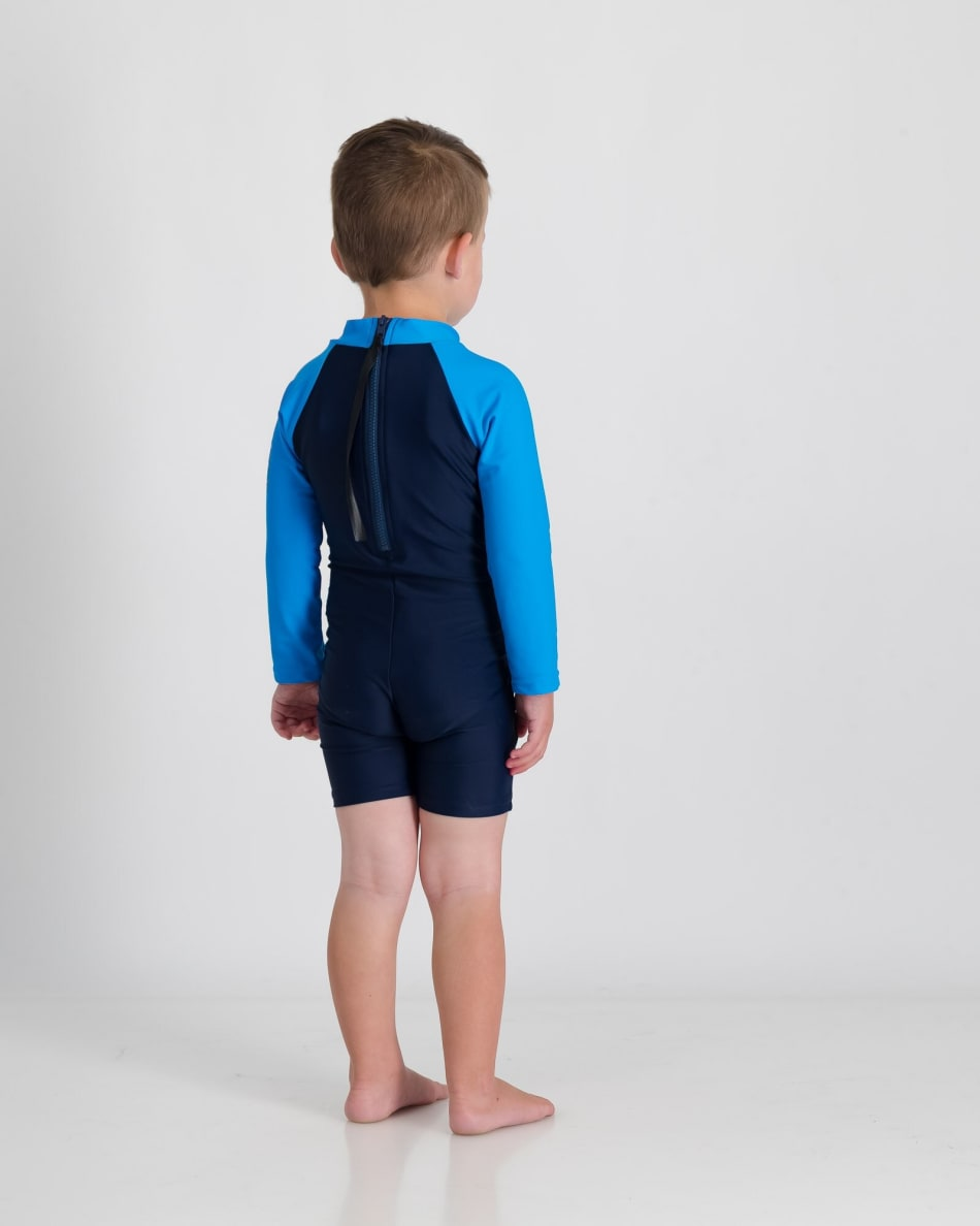 Second Skins BoysTurtley Awesome Long Sleeve Sunsuit, product, variation 3