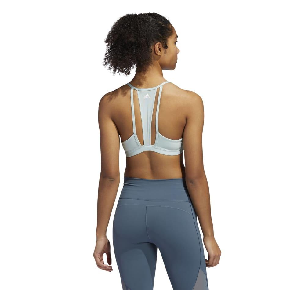 Adidas Women's 3 Stripe Mesh Sport Bra, product, variation 3