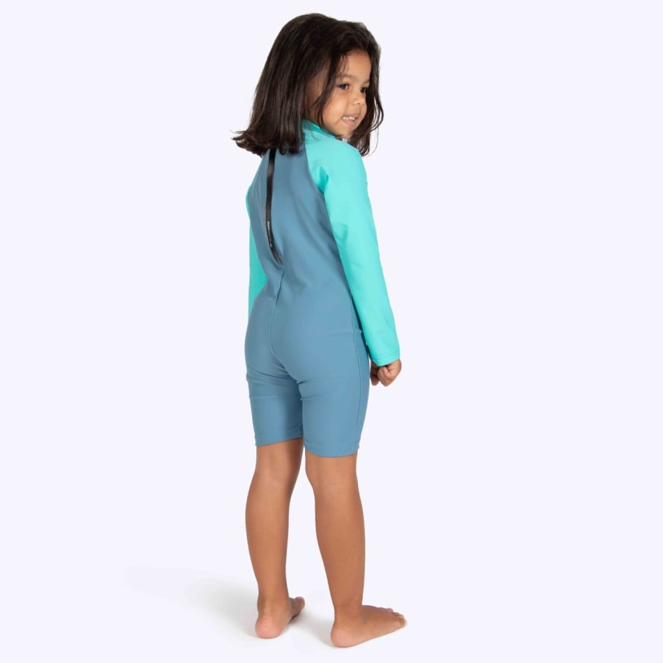 Second Skins Girls You Wish Jellyfish Long Sleeve Sunsuit (2-4), product, variation 4