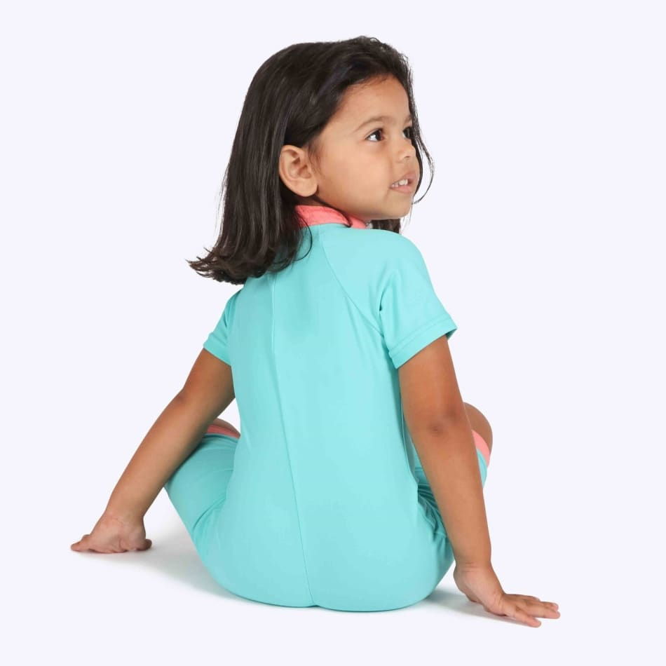 Second Skins Girls Unicorn of the Sea Poppersuit, product, variation 3