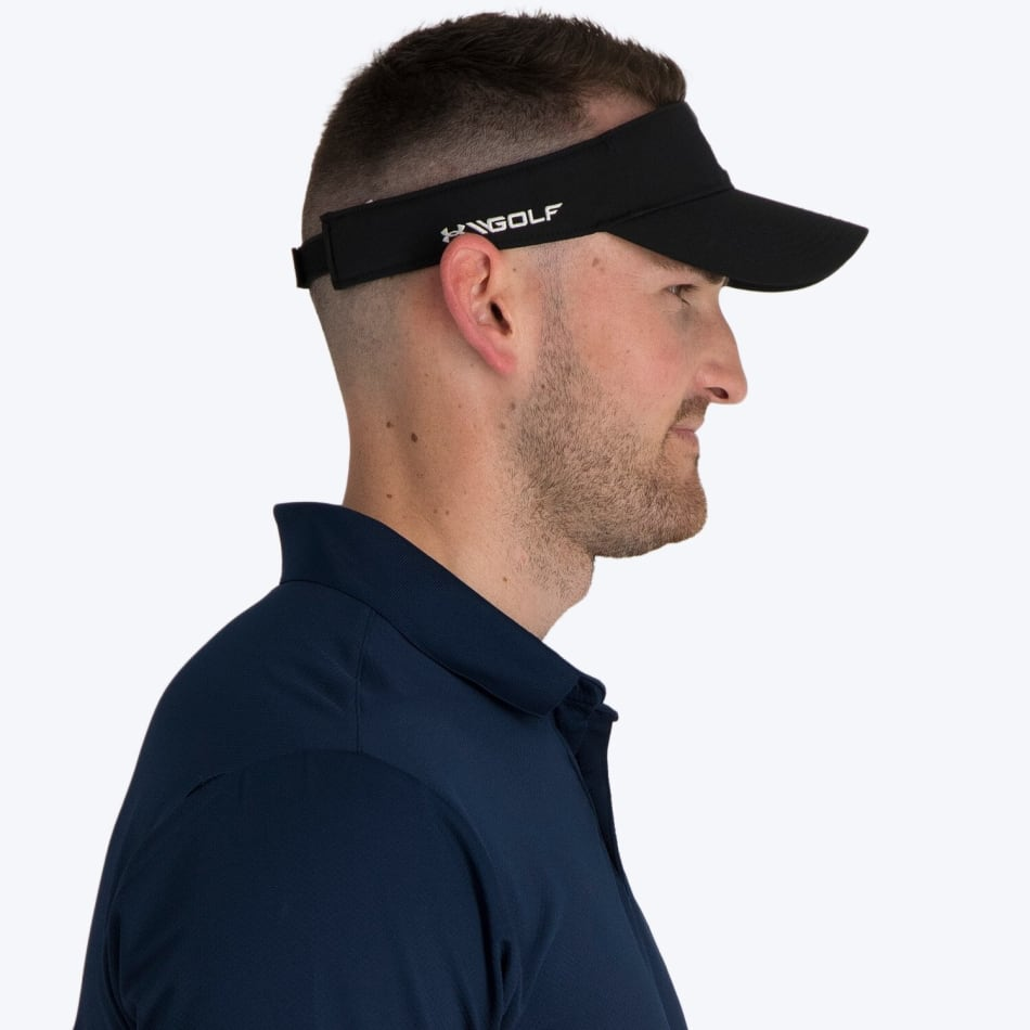 Under Armour Men's Core Golf Visor, product, variation 3