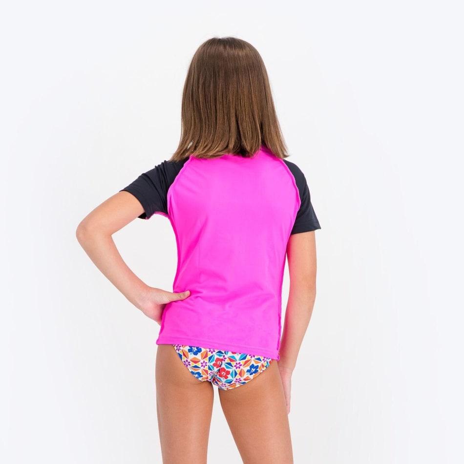 Rip Curl Girls Unicorn Short Sleeve Rashvest, product, variation 2
