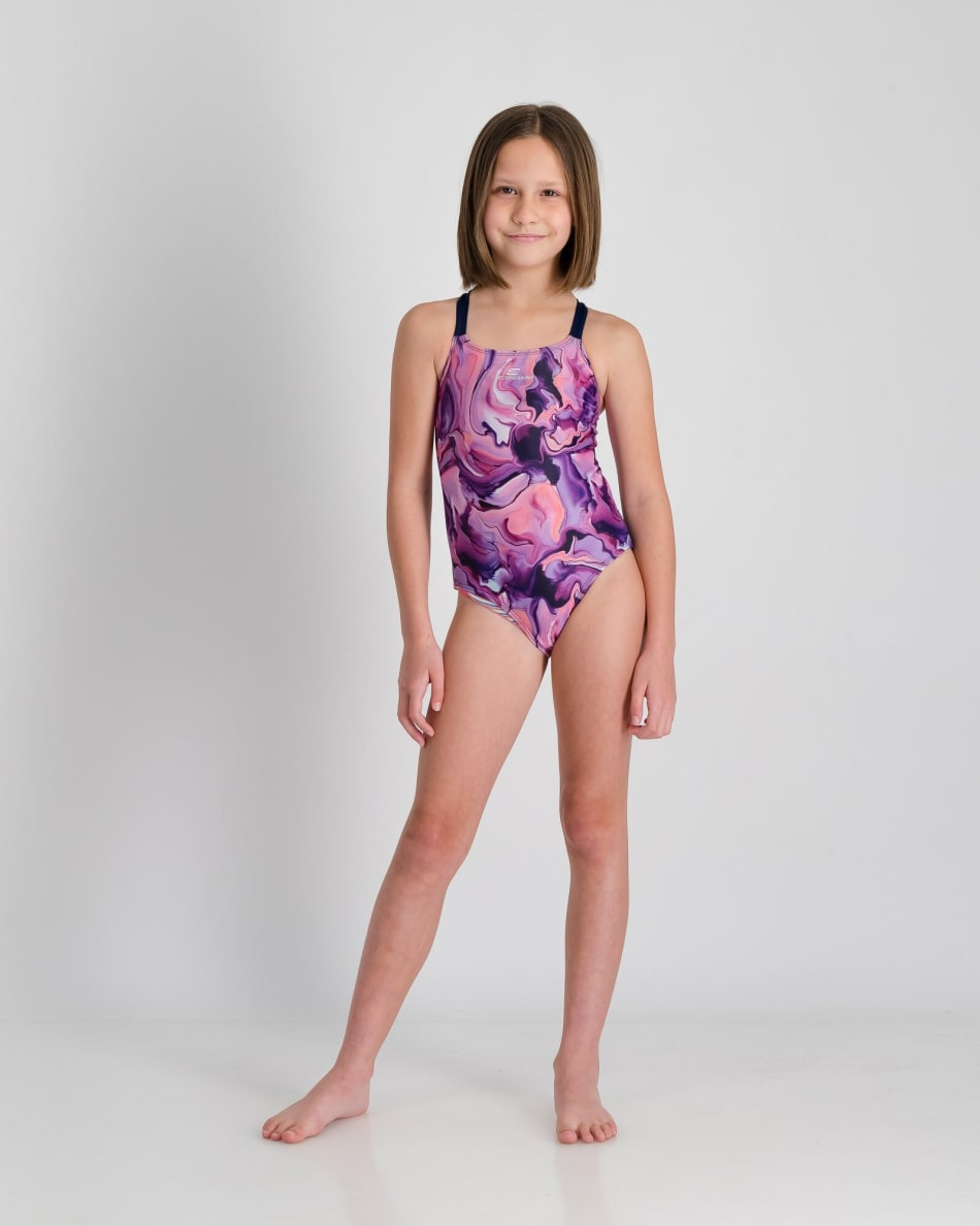Second Skins Girls Magic Marble 1 Piece, product, variation 3
