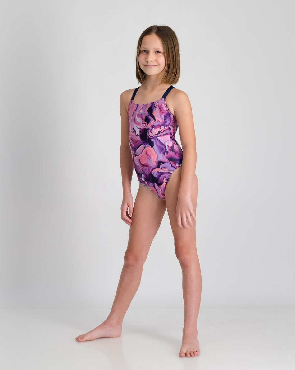 Second Skins Girls Magic Marble 1 Piece, product, variation 4