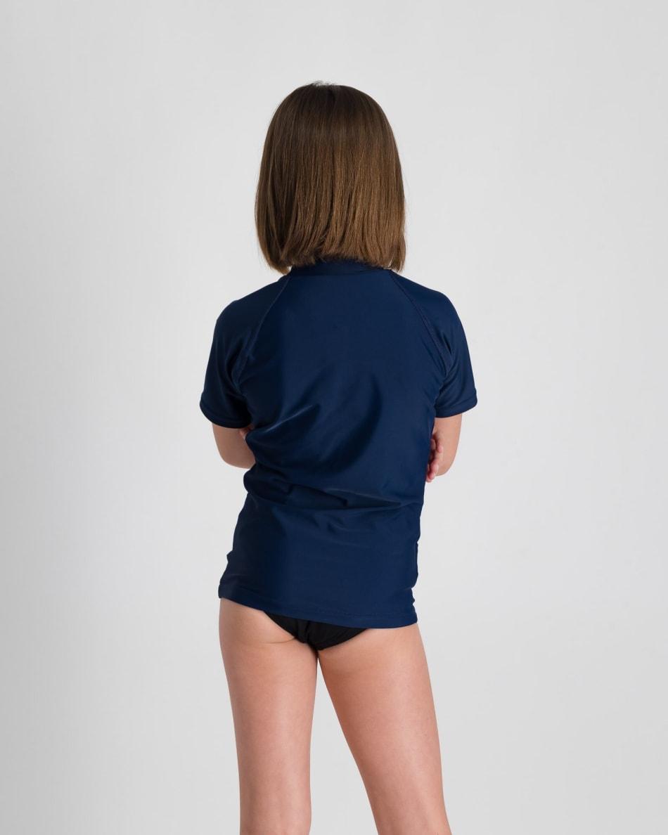 Second Skins Girls Center Mandala Short Sleeve Rashvest, product, variation 5