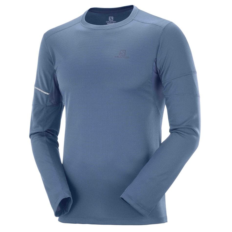 Salomon Men's Agile Run Long Sleeve, product, variation 1