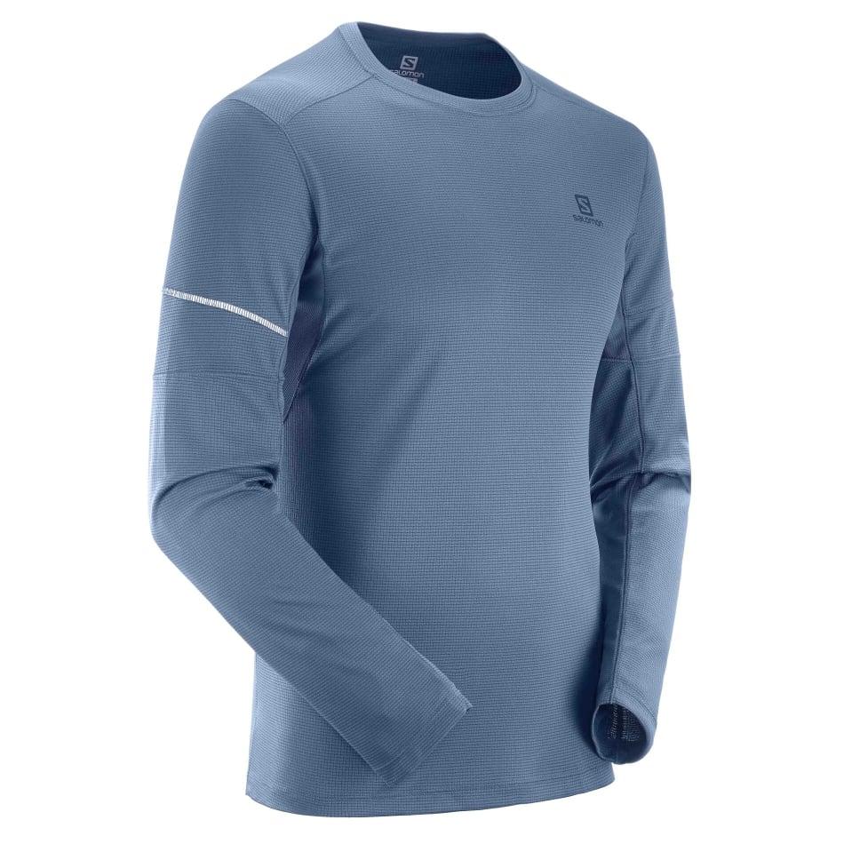 Salomon Men's Agile Run Long Sleeve, product, variation 4