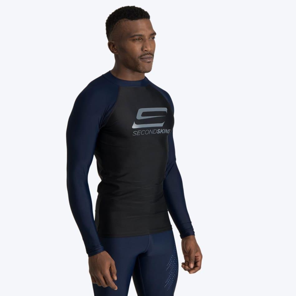Second Skins Men's Iconic Long Sleeve Rashvest, product, variation 4