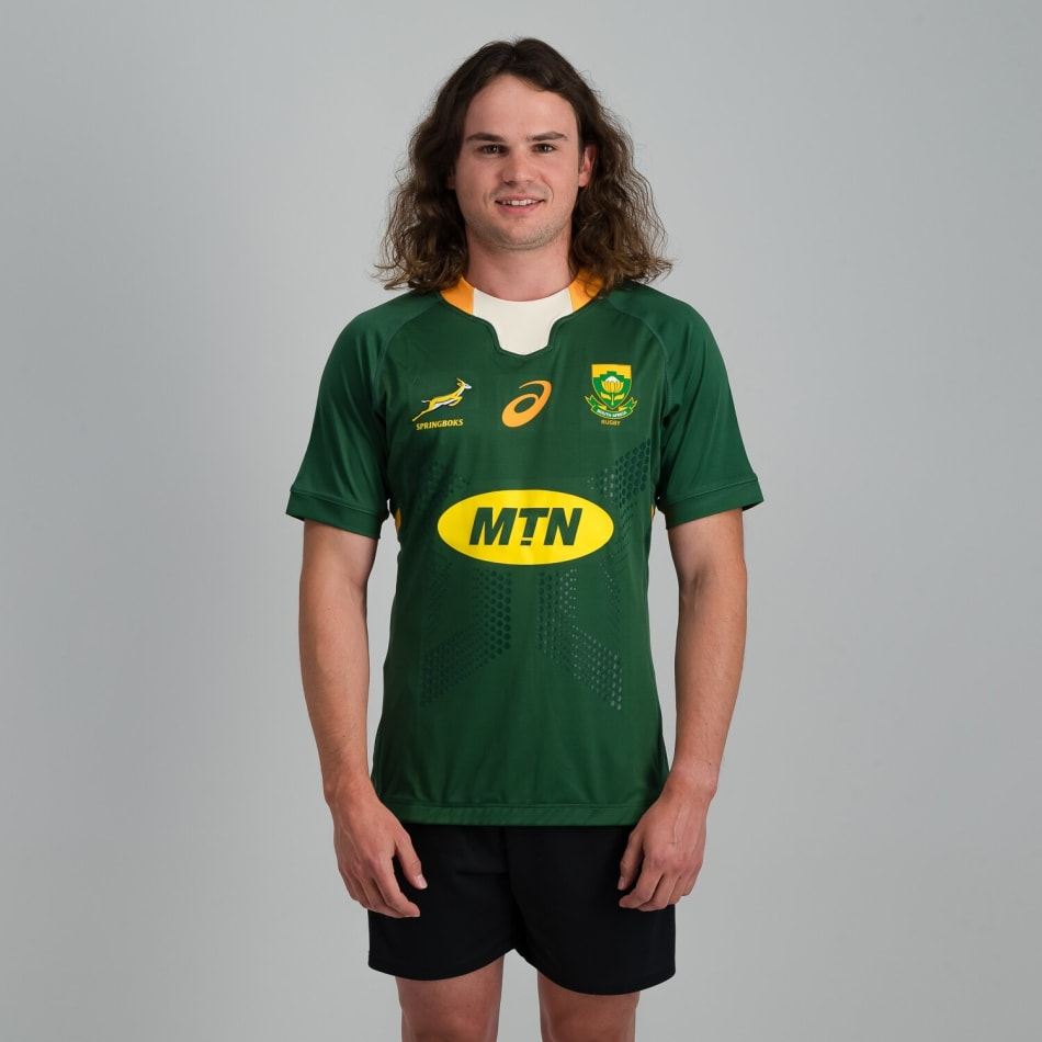Springboks Men's 2020 Home Test Rugby Jersey, product, variation 2