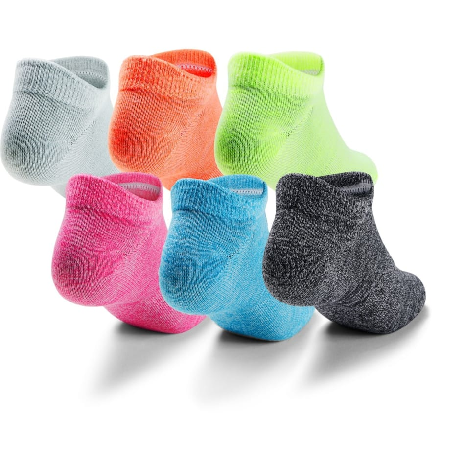 Under Armour Women's No Show Sock 6 Pack (M), product, variation 2