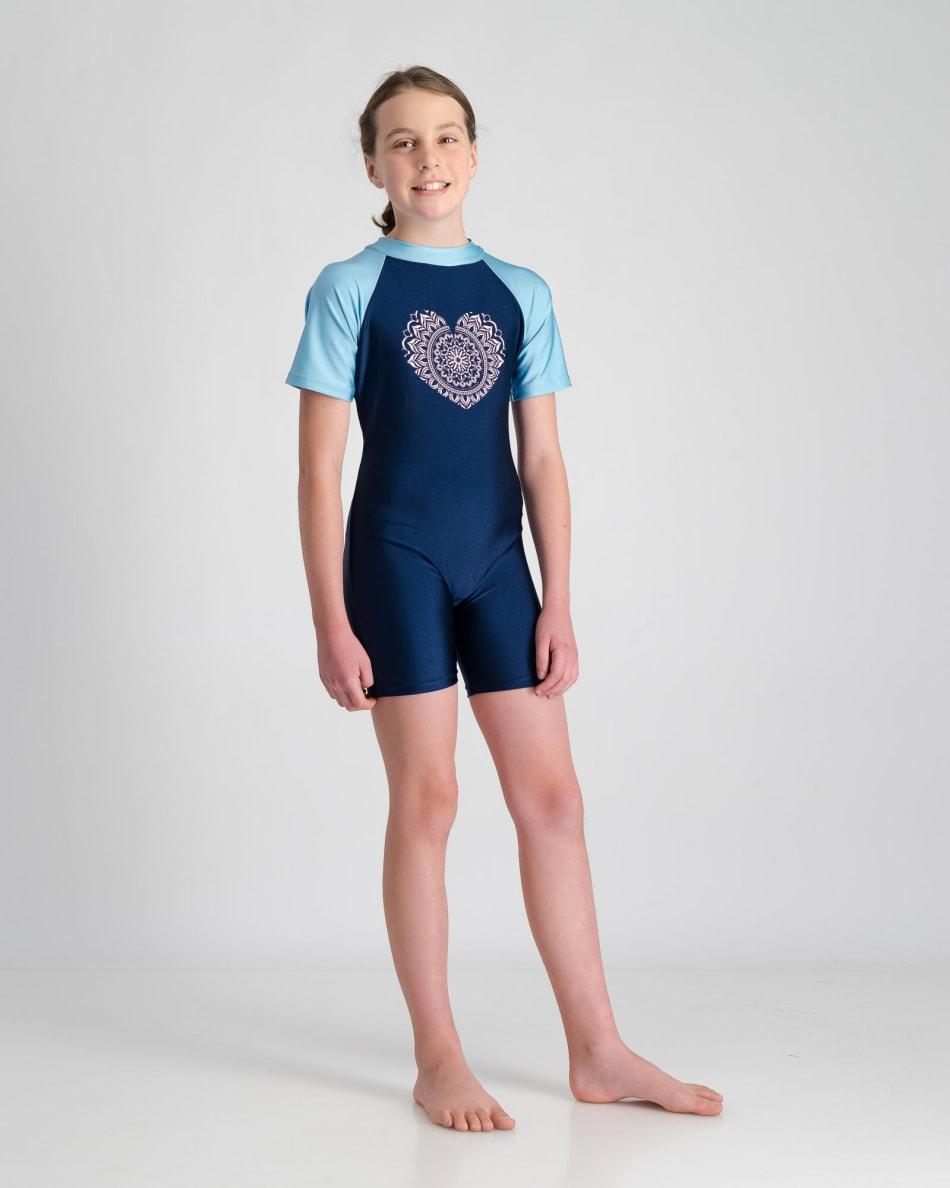 Freesport Girls Mandala Heart Sunsuit (5-10), product, variation 5