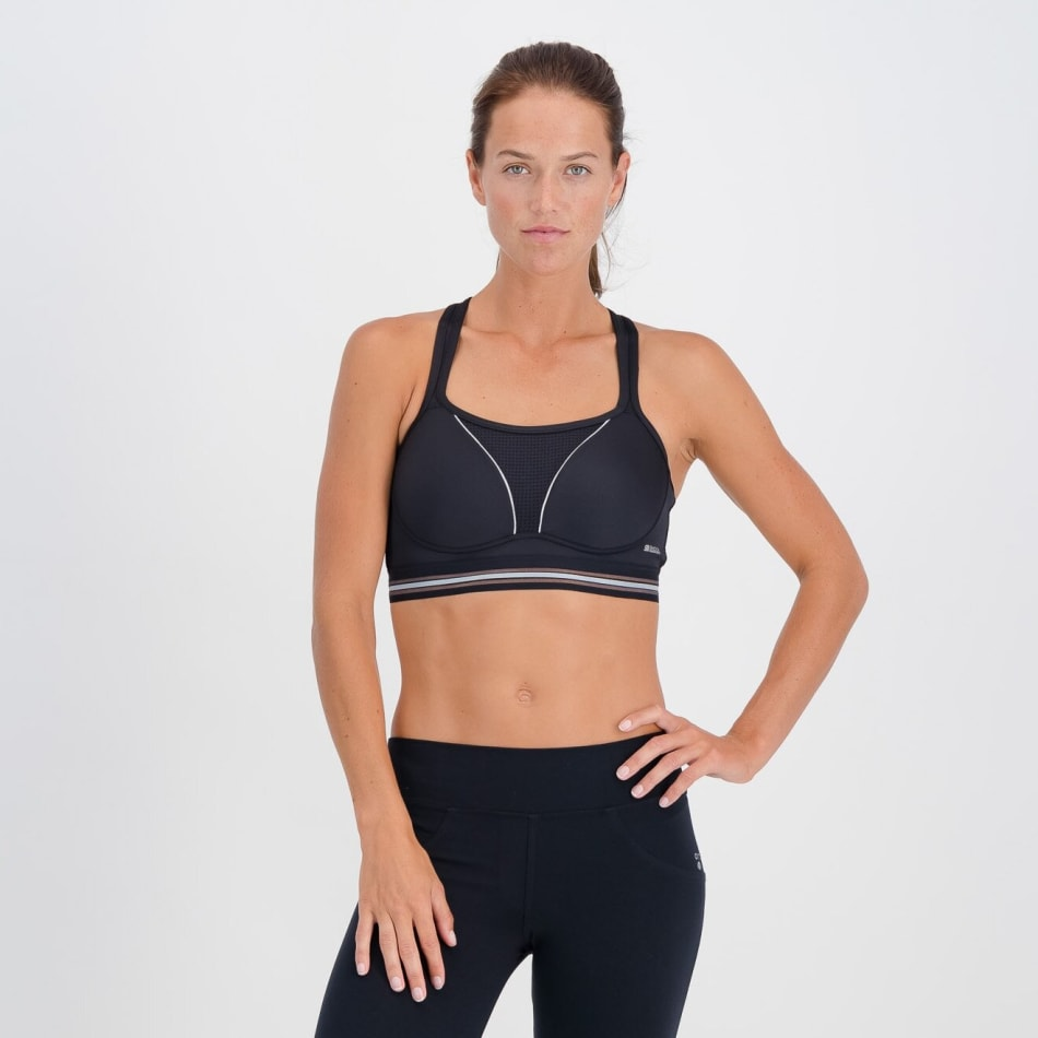 Shock Absorber Women's Reflective Padded Sports Bra, product, variation 1
