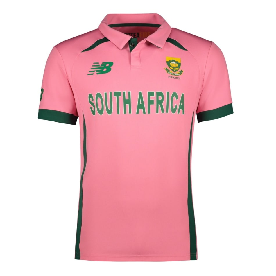 Proteas Men's 2021 BCA Pink Jersey, product, variation 1