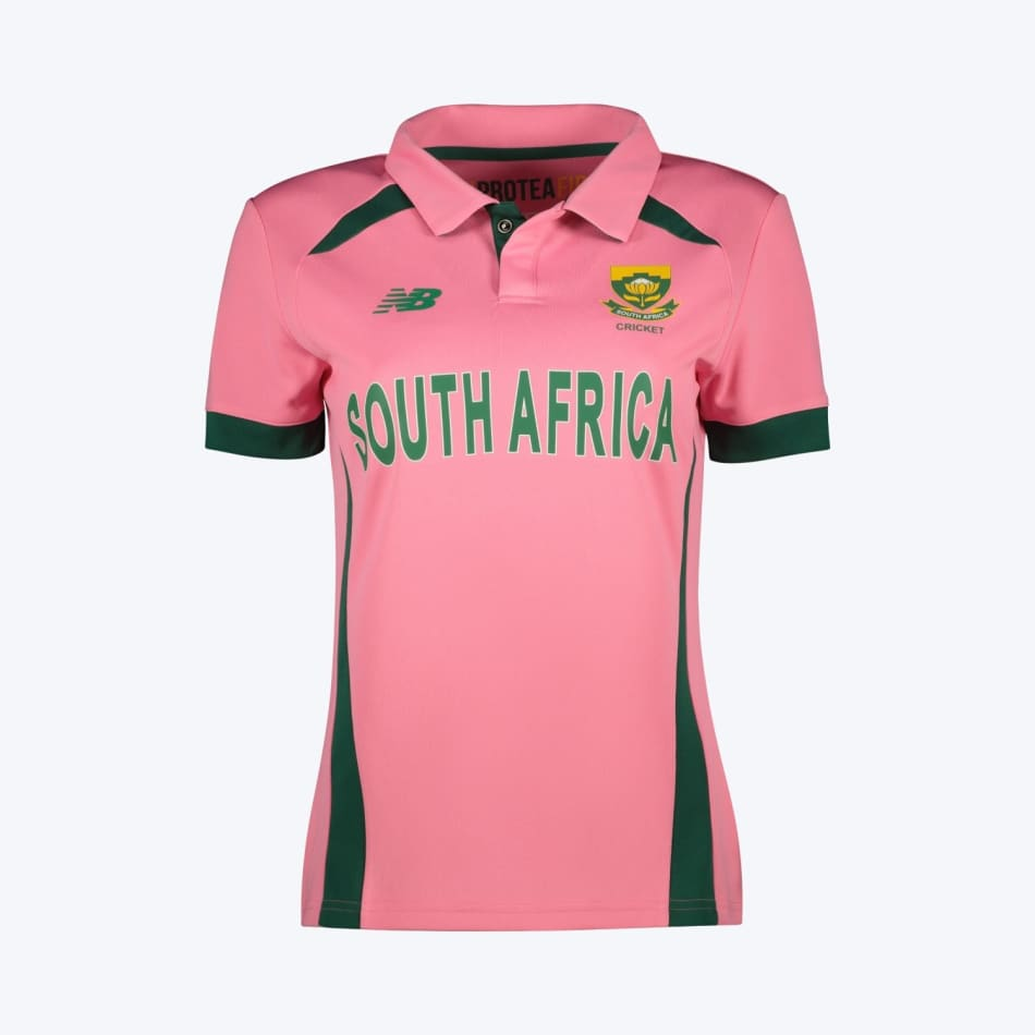 Proteas Women's 2021 BCA Pink Jersey, product, variation 1