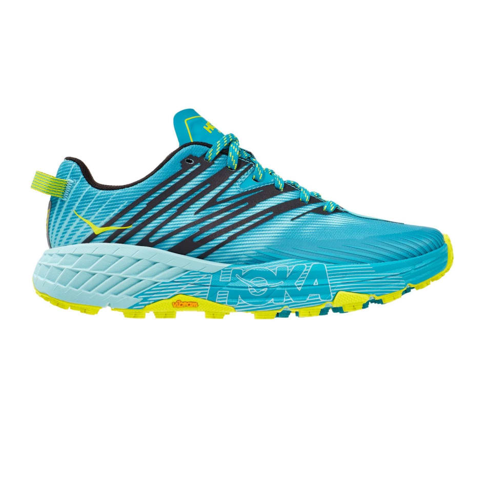 Hoka One One Women's Speedgoat 4 Trail Running Shoes, product, variation 1