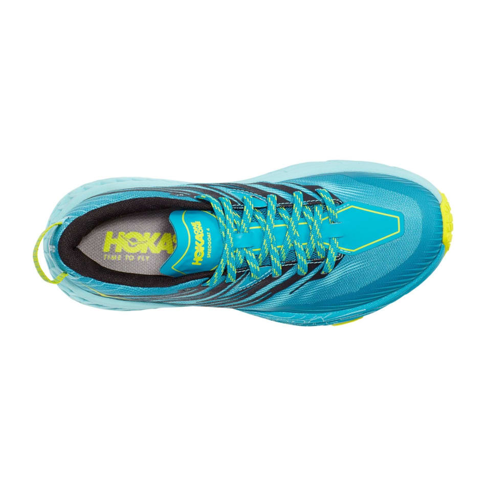 Hoka One One Women's Speedgoat 4 Trail Running Shoes, product, variation 3