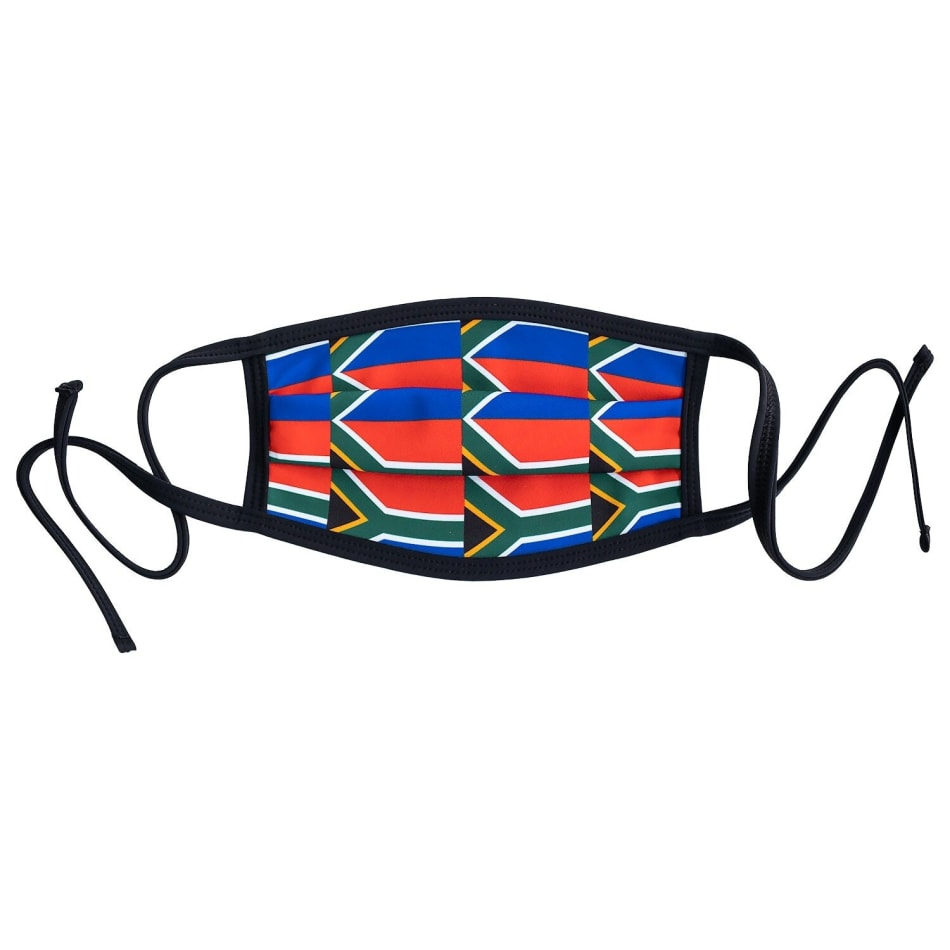 SA Flag Face Mask - default