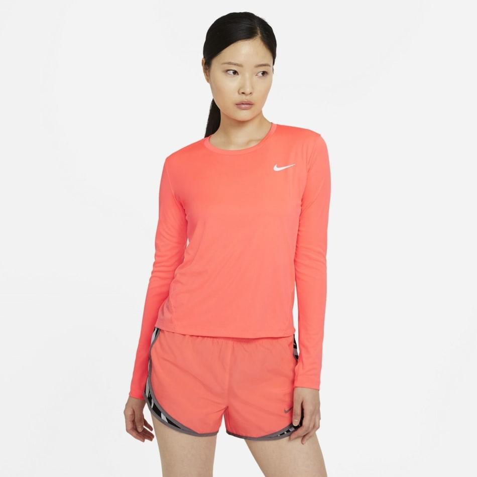 Nike Women's Miler Long Sleeve Run Top, product, variation 1